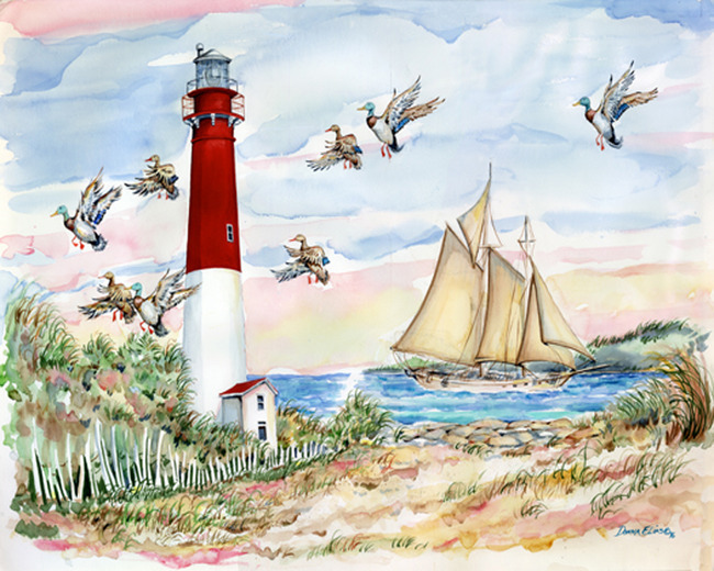 Great American Lighthouses